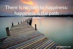 Budha- path happiness