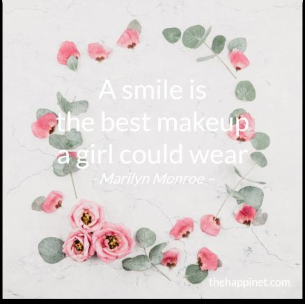 Marilyn - Makeup smile