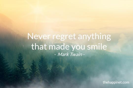 Twain - no regret smile