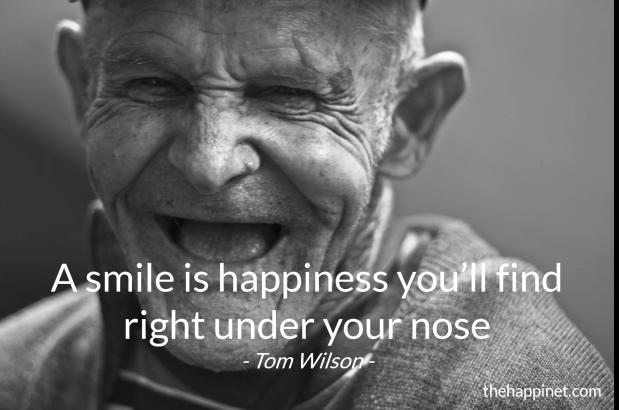 Wilson - smile under nose