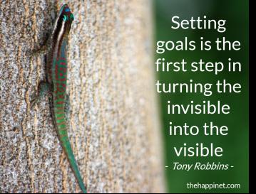 Tony Robbins - Goals invisble visible